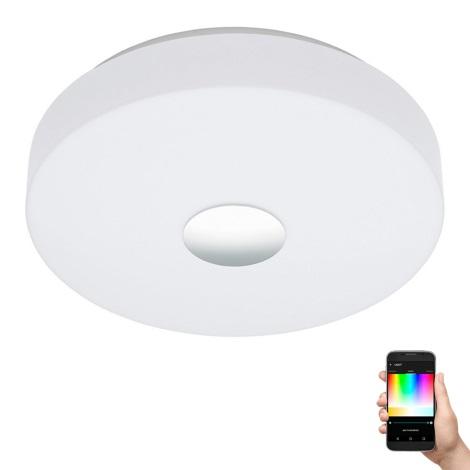 Eglo 96819 - LED RGB Stmívatelné stropní svítidlo BERAMO-C LED/17W/230V