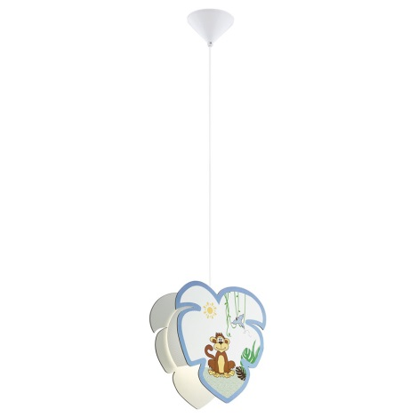 Eglo 96952 - Dětský lustr na lanku LOUIE 1xE27/60W/230V