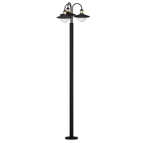 Eglo 97288 - Venkovní lampa SIRMIONE 3xE27/60W/230V IP44