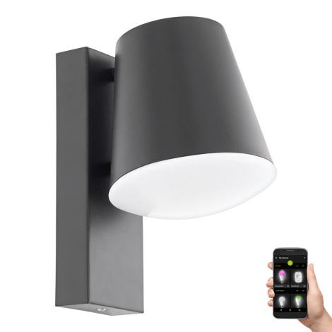 Eglo 97482 - LED Stmívatelné venkovní nástěnné svítidlo CALDIERO-C 1xE27/9W/230V IP44