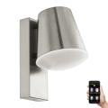 Eglo 97484 - LED Stmívatelné venkovní nástěnné svítidlo CALDIERO-C 1xE27/9W/230V IP44