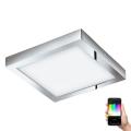 Eglo 98561 - LED RGB Stmívatelné stropní svítidlo FUEVA-C LED/21W/230V