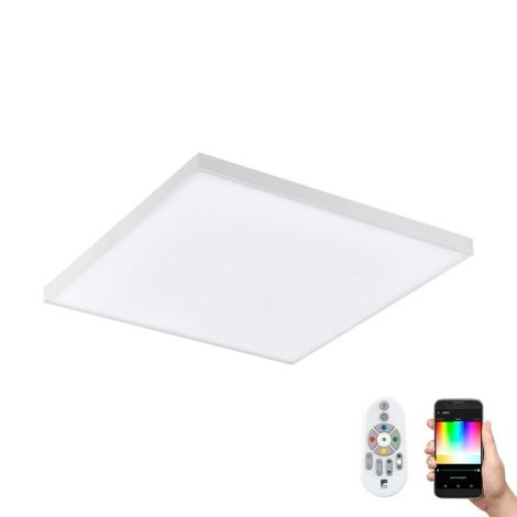 Eglo 98562 - LED RGB Stmívatelné stropní svítidlo pro přisazenou montáž TURCONA-C LED/15W/230V + dálkové ovládání