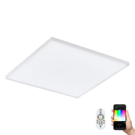 Eglo 98563 - LED RGB Stmívatelné stropní svítidlo pro přisazenou montáž TURCONA-C LED/20W/230V + dálkové ovládání