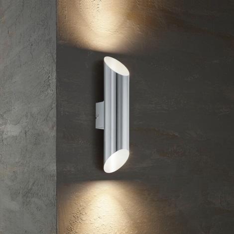Eglo  - Edi Light 54604 - LED Venkovní nástěnné svítidlo AGOLADA 2xLED/3,7W/230V IP44