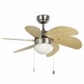 FARO 33183 - Stropní ventilátor PALAO 1xE14/40W/230V
