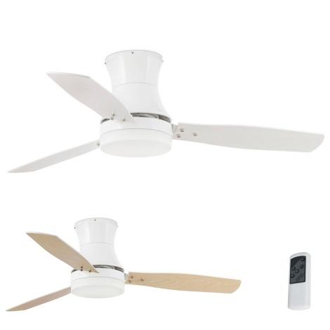 FARO 33384 - Stropní ventilátor TONSAY 2xE27/15W/230V