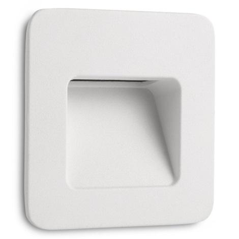 FARO 70395 - LED Venkovní zápustné svítidlo NASE-1 LED/3W/230V IP44