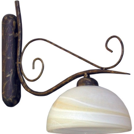 FIONA nástěnné svítidlo, 1xE27/60W,