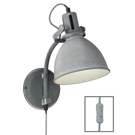 Fischer & Honsel 30741 - Nástěnné svítidlo KENT 1xE27/40W/230V