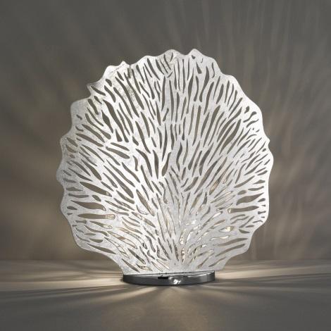 Fischer & Honsel 50126 - Stolní lampa CORAL 2xE14/40W/230V