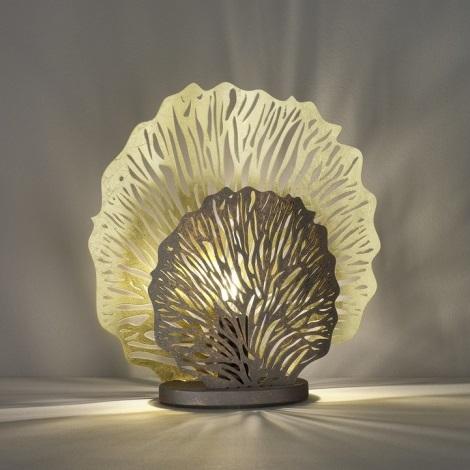 Fischer & Honsel 50127 - Stolní lampa CORAL 2xE14/40W/230V