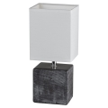Fischer & Honsel 53801 - Stolní lampa LOG 1xE14/40W/230V