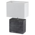 Fischer & Honsel 53811 - Stolní lampa LOG 1xE14/40W/230V