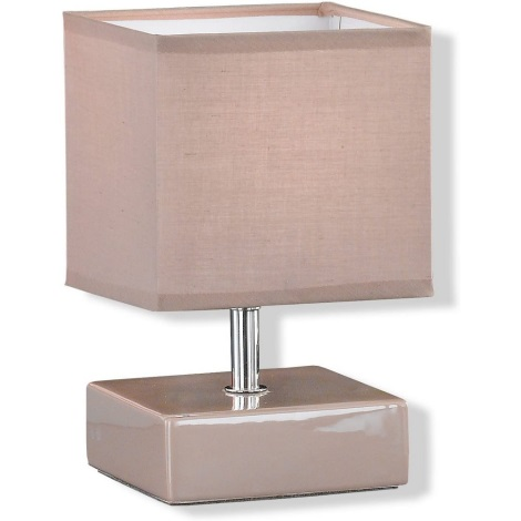 Fischer & Honsel 96671 - Stolní lampa ADAM 1xE14/40W/230V