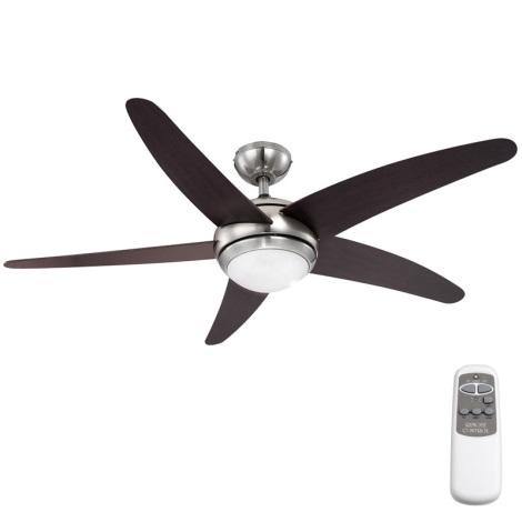 GLOBO 0306 - Stropní ventilátor FABIOLA 1xR7S/80W/230V
