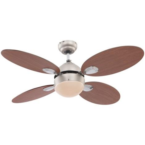 GLOBO 0318 - Stropní ventilátor WADE 1xE14/60W/230V