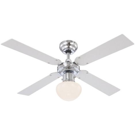 GLOBO 0330 - Stropní ventilátor CHAMPION 1xE27/60W/230V