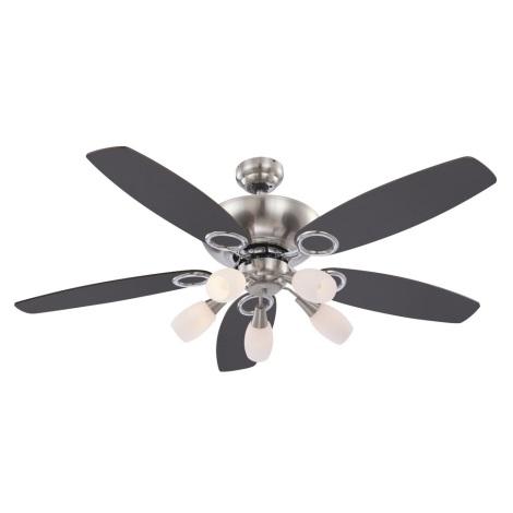 GLOBO 0337 - Stropní ventilátor JERRY 5xE14/40W/230V