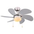 Globo 03801 - Stropní ventilátor RIVALDO 1xE14/60W/230V