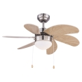 Globo 03809 - Stropní ventilátor RIVALDO 1xE14/60W/230V