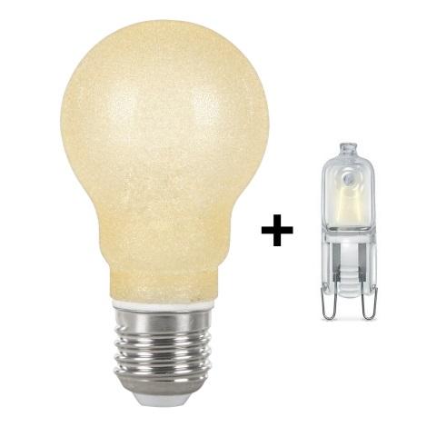 GLOBO 11261 - Úsporná žárovka E27+G9/42W