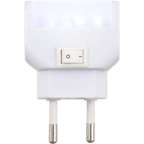 Globo 31908 - LED orientační svítidlo s vypínačem CHASER LED 4xLED/0,24W/13V