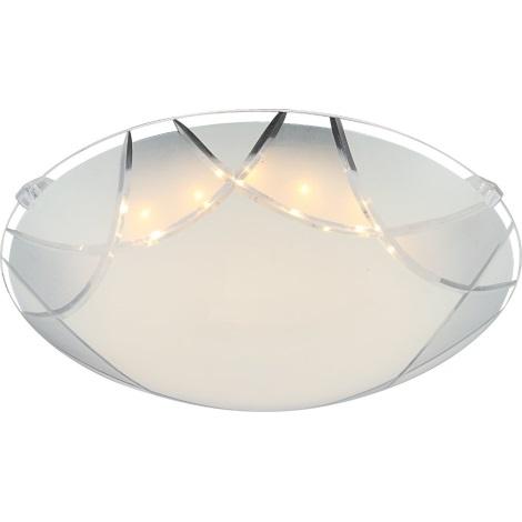 GLOBO 40431 - Stropní LED svítidlo INKA 1xLED/8W/230V