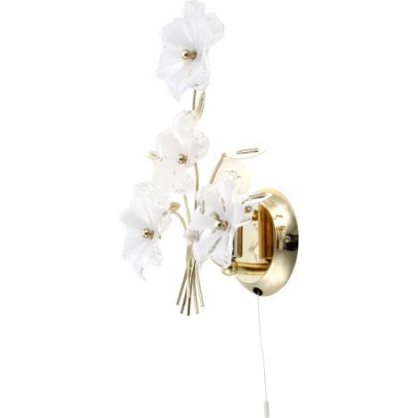 GLOBO 5107 - Nástěnné svítidlo FLOWER 1xE14/40W