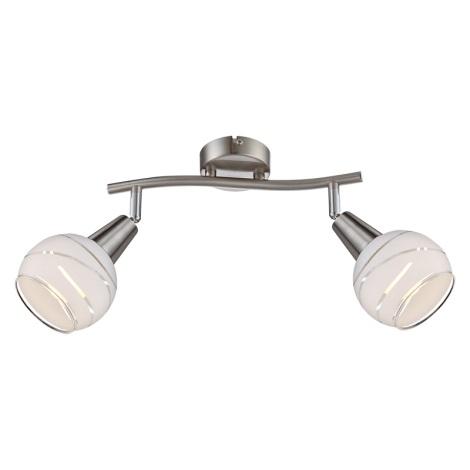 Globo 54341-2 - LED nástěnné svítidlo ELLIOTT 2xE14/4W/230V