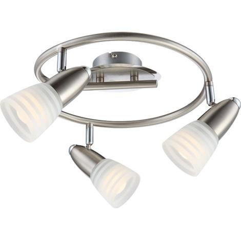 GLOBO 54536-3 - Bodové LED svítidlo CALEB 3xE14 LED/4W/230V