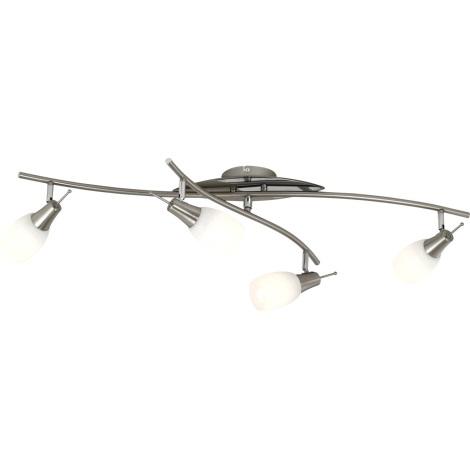 GLOBO 54980-4 - Bodové svítidlo BELUA 4xE14/13W/230V