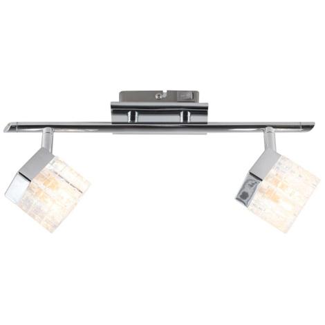 GLOBO 56183-2 - Bodové svítidlo BARON 2xG9/33W/230V
