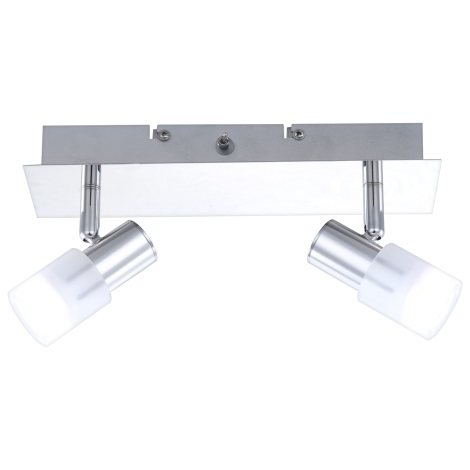 GLOBO 56200-2 - LED Nástěnné svítidlo s vypínačem GLOSS 2x LED/3W/3,5V