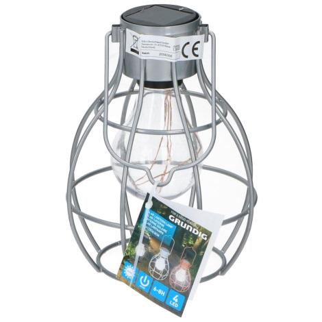 Grundig - Solární lampa 4xLED/1,2V IP44