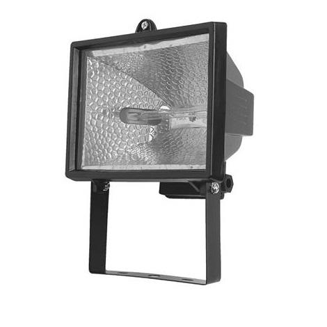 Halogenový reflektor HALO 500B 1xR7s/500W černá - GXER010