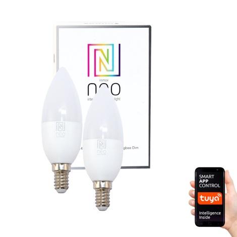 Immax NEO - 2xLED Stmívatelná žárovka E14/5W/230V ZigBee