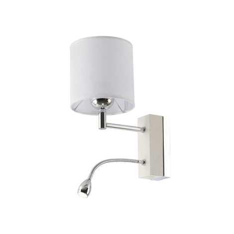 Jupiter 1415 - MA K B - LED nástěnné svítidlo MANGO 1xE27/60W + LED/1W/230V