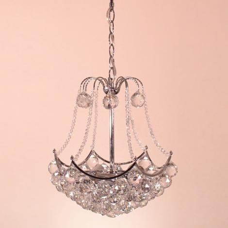 Křišťálový lustr Orient 12060/3 3xE27/60W  čiré sklo