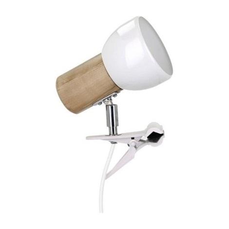 Lampa s klipem SVENDA 1xE27/60W/230V