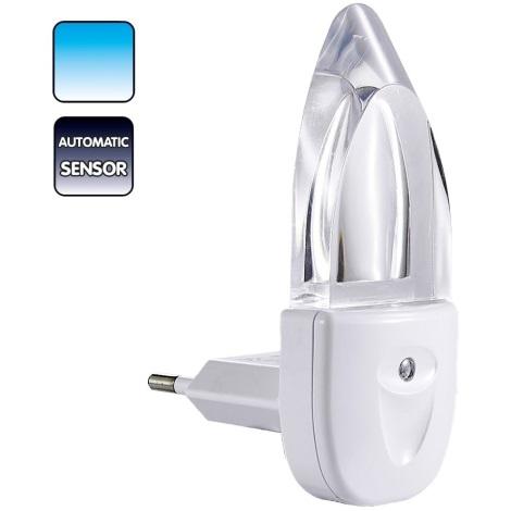 Lampička do zásuvky MINI-LIGHT (modré světlo)