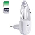 Lampička do zásuvky MINI-LIGHT (zelené světlo)