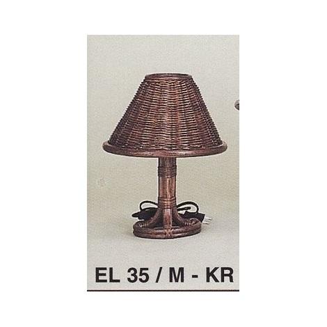 Lampička EL35M mořený