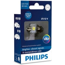 LED Autožárovka Philips X-TREME ULTINON 129416000KX1 LED C5W/12V 6000K