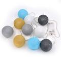 LED Dekorační koule 10xLED/0,03W/2xAA