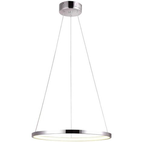 LED Lustr na lanku LUNE LED/25W/230V