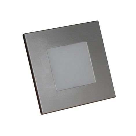 LED Nástěnné schodišťové svítidlo 1xLED/1W/220V