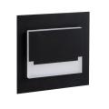 LED Nástěnné schodišťové svítidlo SABIK MINI LED/0,8W/12V 3000K