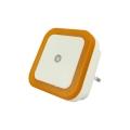 LED Noční světlo se senzorem LED/0,5W/230V oranžová
