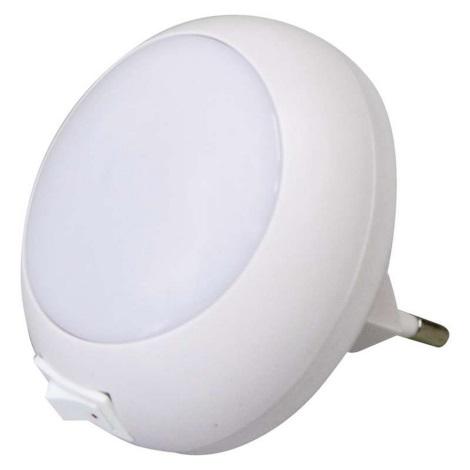 LED Noční svítidlo do zásuvky 5xLED/0,6W/230V